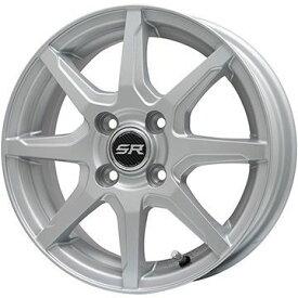 【送料無料】 FALKEN ファルケン エスピア W-ACE(数量限定2018年製) 155/65R14 14インチ スタッドレスタイヤ ホイール4本セット BRANDLE ブランドル S8【限定】 4.5J 4.50-14