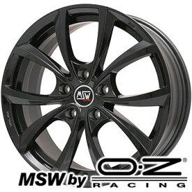 【送料無料】 225/60R17 17インチ MSW by OZ Racing MSW 27(グロスブラック) 7.5J 7.50-17 YOKOHAMA ジオランダー A/T G015 OWL/RBL サマータイヤ ホイール4本セット