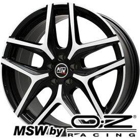 【取付対象】【送料無料 BMW 5シリーズ(G30 G31)】 245/45R18 18インチ MSW by OZ Racing MSW 40(グロスブラックフルポリッシュ) 8J 8.00-18 PIRELLI チンチュラートP7 RFT ★ BMW承認 サマータイヤ ホイール4本セット