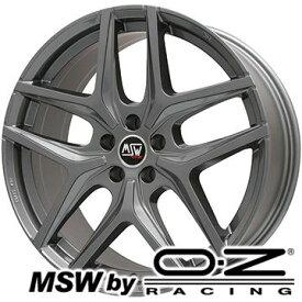 【取付対象】【送料無料 BMW 5シリーズ(G30 G31)】 245/45R18 18インチ MSW by OZ Racing MSW 40(グロスガンメタル) 8J 8.00-18 PIRELLI チンチュラートP7 サマータイヤ ホイール4本セット