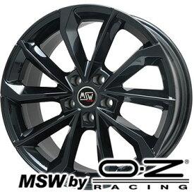 【送料無料】 225/50R17 17インチ MSW by OZ Racing MSW 42(グロスブラック) 7.5J 7.50-17 FALKEN ジークス ZE914F サマータイヤ ホイール4本セット