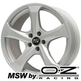 【取付対象】【送料無料 アウディA3(8V)】 225/45R17 17インチ MSW by OZ Racing MSW 47(フルシルバー) 7.5J 7.50-17 FALKEN アゼニス FK453 サマータイヤ ホイール4本セット 輸入車