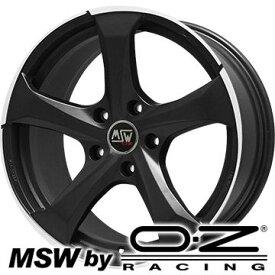 【送料無料】 215/45R17 17インチ MSW by OZ Racing MSW 47(マットダークチタニウムポリッシュ) 7.5J 7.50-17 YOKOHAMA ブルーアース RV-02 サマータイヤ ホイール4本セット