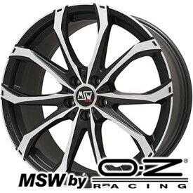 【取付対象】【送料無料】 245/45R20 20インチ MSW by OZ Racing MSW 48(マットブラックポリッシュ) 8.5J 8.50-20 YOKOHAMA ヨコハマ PARADA Spec-X サマータイヤ ホイール4本セット