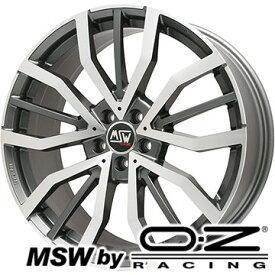 【取付対象】【送料無料】 225/60R18 18インチ MSW by OZ Racing MSW 49(グロスガンメタルポリッシュ) 8J 8.00-18 DELINTE デリンテ DH7 SUV(限定) サマータイヤ ホイール4本セット