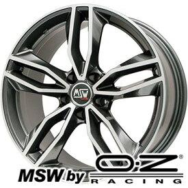 【取付対象】【送料無料 BMW 2シリーズ(F45 F46)】 225/45R18 18インチ MSW by OZ Racing MSW 71(グロスダークグレーポリッシュ) 8J 8.00-18 MICHELIN パイロット スポーツ4 サマータイヤ ホイール4本セット
