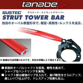 送料無料(一部離島除く TANABE タナベ SUSTEC STRUT TOWER BAR サステック ストラットタワーバー ダイハツ コペン L880K NSD10