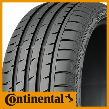 【送料無料】 CONTINENTAL コンチ スポーツコンタクト3 J JAGUAR承認 275/35R20 102Y XL タイヤ単品1本価格