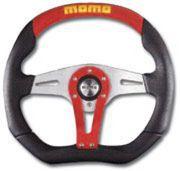 【在庫限り】 送料無料(一部離島除く) MOMO モモ ハンドル ステアリング TREK RED トレック レッド 35Φ