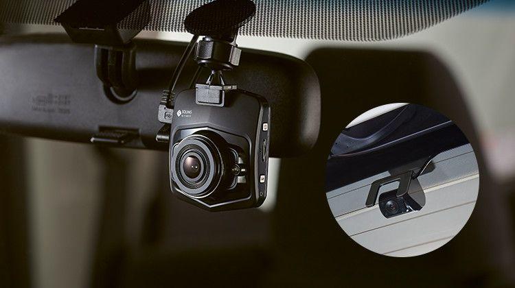 送料無料(一部離島除く) DENSO TEN デンソーテン SL1118DVR リアカメラ付ドライブレコーダー