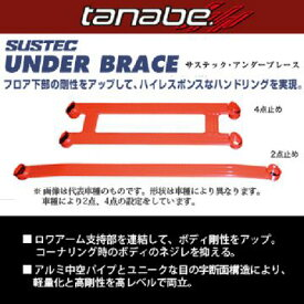 【納期未定】送料無料(一部離島除く) TANABE タナベ サステック アンダーブレース ホンダ N-BOXカスタム(2017〜 JF3) フジコーポレーション