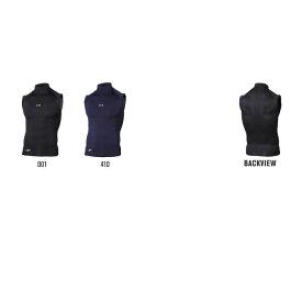 <アンダーアーマー>UA HG ARMOUR COMP SL MOCK ベースボール シャツ アンダーシャツ 袖なし ヒートギア 1313254