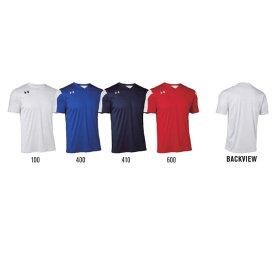 <アンダーアーマー>UA TS MAQUINA JERSEY SS グローバルフットボール シャツ ヒートギア 半袖 サッカーシャツ 1324617