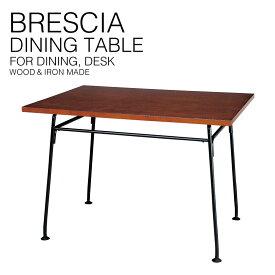 『送料無料』 ブレシア ダイニング テーブル デスク Brescia Table スパイス CPT136BR 食卓 作業台 勉強机 ワークテーブル アイアン 脚 木製 学校 木目 シンプル デザイン 北欧 家具