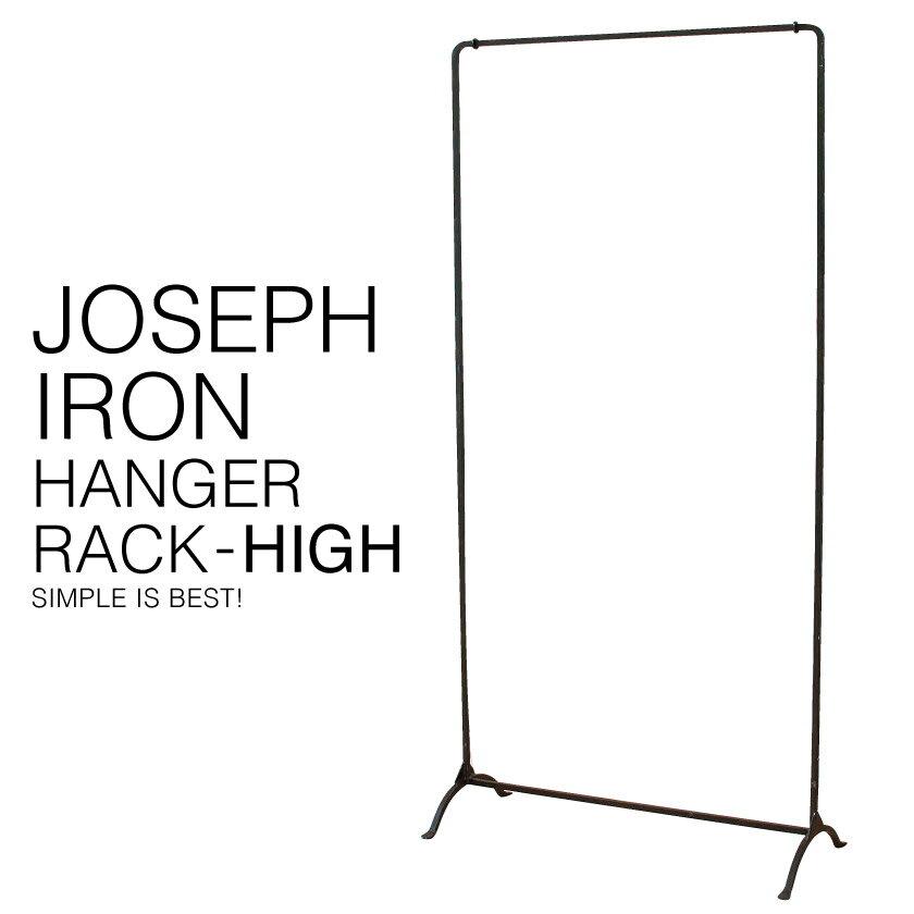 【入荷しました】『送料無料』 JOSEPH IRON HANGER RACK ジョセフ アイアン ハンガー ラック ハイ SPICE スパイス DTFF2893 高さ144cm 洋服 アパレル ディスプレイ 収納 展示 北欧 シンプル デザイン スチール 鉄 ハンドメイド