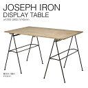 【SS期間中 ポイント5倍!】『送料無料』 JOSEPH IRON DISPLAY TABLE ジョセフ アイアン ディスプレイ テーブル SPICE スパイス DTFF9019 120x80cm 折