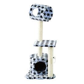 @【SALE 40%OFF!】 「PAW-PAW」 キャット ツリー Cat Tower SPICE スパイス HMLY4080 ペットグッズ ネコ 猫 犬 室内 遊び 運動不足 肥満 トンネル 爪研ぎ タワー