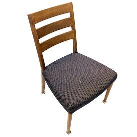カリモク 家具 椅子 ダイニングチェア CT61 B547 モルトブラウン プルートダークネイビー 中古 木製 クッション CT61モデル Karimoku チェア イス ダイニング 1脚 軽量 ブランド 高級家具 リビング ブラウン ネイビー チェック 格安 お買得 食堂椅子
