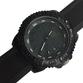 ルミノックス 腕時計 ダイバーズ 3050 3950 ブラック ホワイト シルバー金具 中古 ラバーベルト LUMINOX 時計 クオーツ 定番 人気   レディース メンズ ウォッチ ラウンドフェイス オシャレ カジュアル ブランドロゴ アクセ 本物 鑑定済み