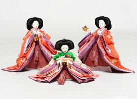 【雛人形五人飾】【雛人形】十番親王三五官女揃:華麗雛:千匠作【ひな人形】