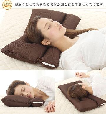 首にやさしい枕ストレートネック対応ハードタイプソフトタイプ硬め肩こり高さ調節可能手洗いOK送料無料
