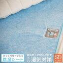 除湿シート 洗える セミダブル 110×180cm 吸湿 除湿マット 結露防止 調湿 シリカゲル 布団 ベッド 湿気取り 湿気対策…