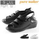 【送料無料】【20%OFF】 ピュアウォーカー pure walker プロフェッショナル PW8503 8503 S 21.5 22 M 22.5 23 L 23.5 24 LL 24.5 25 バーゲン 新生活