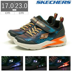 スケッチャーズ SKECHERS ERUPTERS III DERLO キッズ スニーカー シューズ 靴 光る靴 LED ベルクロ 90563L