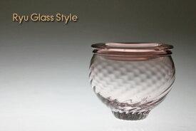 薄紅色モールキャニスターガラスキャニスター・シュガーポット・デザートカップ・ガラス器・食器の通販・販売