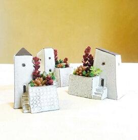 福岡の陶芸家 てのにわさんの「おうち」の花瓶 陶器 花瓶 鉢