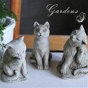 ガーデニング オーナメント 「 キャット 3タイプ 」 ネコ 猫 cat ガーゴイル イギリス 置物 オブジェ 童話 動物 Hamp…