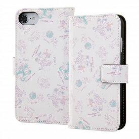 iPhone8ケース iPhone 8ケース iPhone8 ケース アイフォン8ケース アイホン8ケース カバーiPhone 8/7/6s/6 Disney ディズニー 手帳型アート マグネット/モンスターズ・インク20