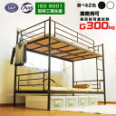 2段ベッド 大人用 二段ベッド パイプベッド シングル 耐荷重300kg パイプ おしゃれ パイプベット フレーム コンパクト…