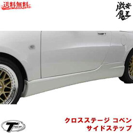 ■TAKE OFF テイクオフ コペン(COPEN) L880K クロスステージ コペン サイドステップ サイドステップ 軽自動車パーツ 激安魔王