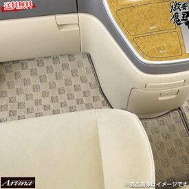フロアマット ノア VOXY ZRR ZWR80系 後期モデルHV車 ベージュ アルティナ 1台分 激安魔王