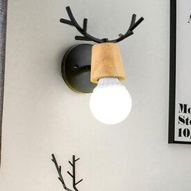ブラケットライト【送料無料※対象外地域あり】1灯ウオールランプ 北欧 子供部屋 鹿の角 壁掛けライト 壁掛けランプ 壁掛け照明 インテリア LED対応 室内照明 玄関照明 間接照明 レトロ モダン シンプル 可愛い おしゃれ アンティーク 動物 かわいい おしゃれ 288