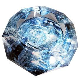 【送料無料 ※沖縄・離島除く 】 【 スーパーセール開催】【最大70%オフ】 GMS00084-15 G-HOUSE(ジーハウス) 高級 タバコ 葉巻 かっこいい クリスタル ガラス製 卓上 灰皿(15cm) 【 GMS00084-15 】