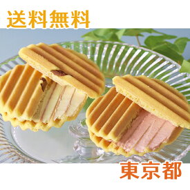 銀座千疋屋 銀座ヴァッフェル バニラ/イチゴ 各5個(計10個)