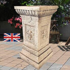 ストーン 英国製 ローマスタンド L 送料無料 ガーゴイルと同じ石造 台座 イギリス製 ガーデニング ガーデン 雑貨 オーナメント おしゃれ 置物