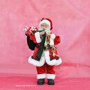 人気サンタクロース置物人形高さ50cm/クリスマスオーナメント/ビックサイズディスプレイ/クリスマスプレゼント女性