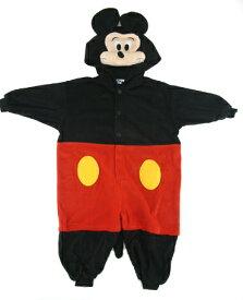 ハロウィン 衣装 フリース ディズニー 着ぐるみ 子供 ミッキーマウス ミッキー コスプレ 仮装 着ぐるみパジャマ 部屋着 宴会 お祭り ハロウイン イベント あす楽