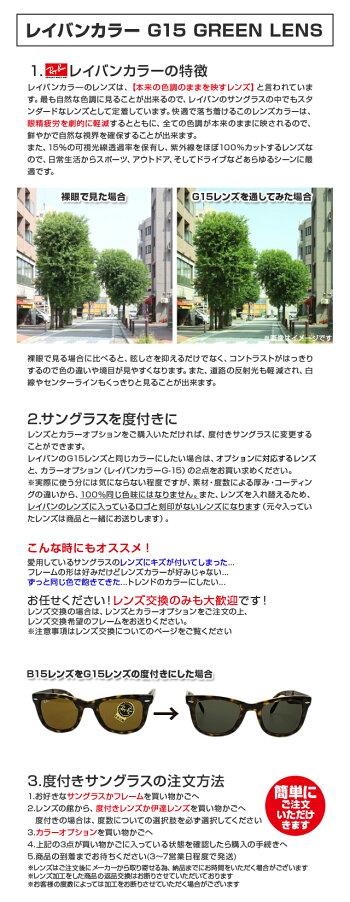 【HOYA/SAビジョン/KODAKレンズ専用】レイバンカラー【2枚1組】