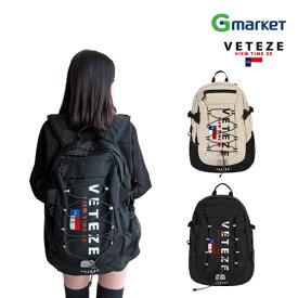 1692ed42ceab 【VETEZE】【ベテゼ】ロゴ バックパック/VETEZE Big Logo Backpack (2color