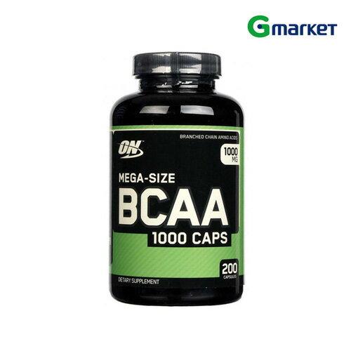 【Optimum Nutrition】【無料配送】Optimum Nutrition Mega-Size BCAA 1000 MG 200 Capsules 1 200 Capsules/オプティマムニュートリション メガサイズ BCAA 1,000mg 200錠【楽天海外直送】