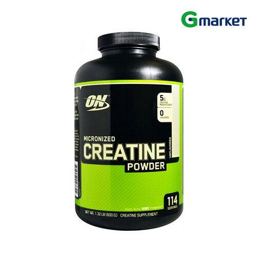 【Optimum Nutrition】【無料配送】Optimum Nutrition Micronized Creatine Powder Unflavored 1.32 LB 1.32 lb/オプティマムニュートリション クレアチンパウダーフレーバーなし 600g【楽天海外直送】