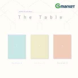 【3種セット】【予約】【K-Pop】【NU'EST】NU'EST 7th Mini Album 'The Table'/ニューイスト/ミニアルバム/韓国チャート反映/10月21日発売【楽天海外直送】