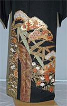 rt201松に竹に菊レンタル留袖