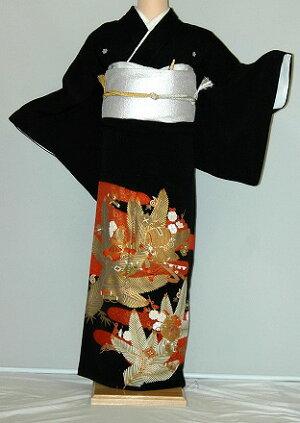 rt214松葉に宝づくしレンタル留袖