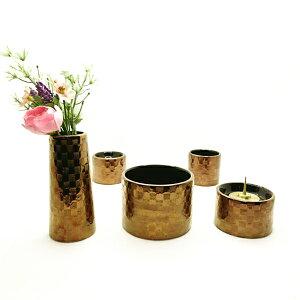 かわいい ゆい花 プレミアム モダン仏具セット 花立て 火立て 香炉 仏器 仏飯器 仏茶器 セット