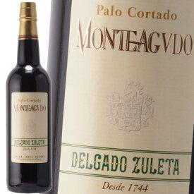 シェリー酒 デルガド スレタ パロ コルタド モンテアグード 辛口 19%